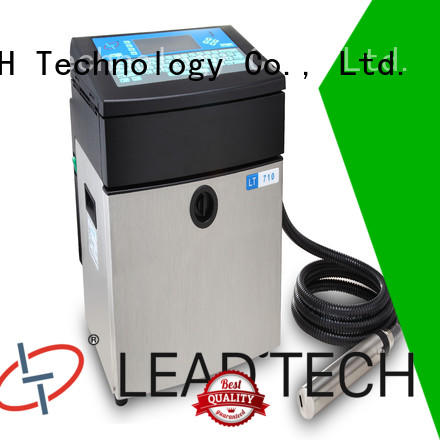 LEAD TECH High-quality recycle inkjet printer fast-speed for auto parts printing