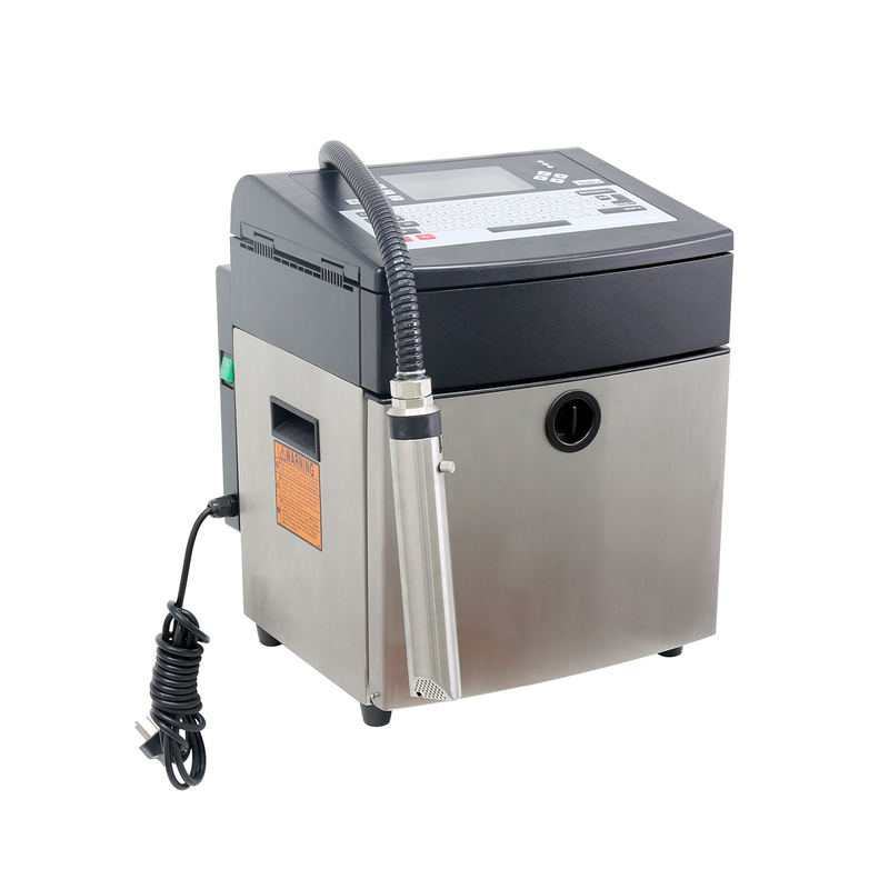 Lead Tech Lt760 1d Barcode Continuous Cij Inkjet Printer