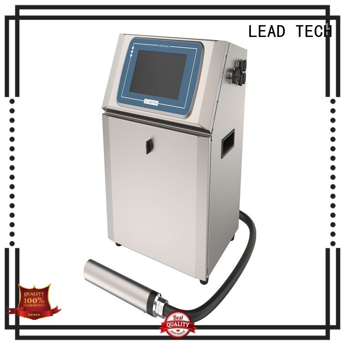 LEAD TECH Best network inkjet printer professtional for daily chemical industry printing