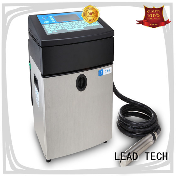 LEAD TECH uv inkjet ink custom for drugs industry printing