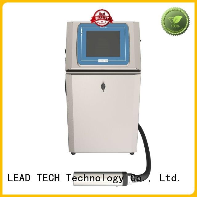 LEAD TECH handheld inkjet printer uk for tobacco industry printing