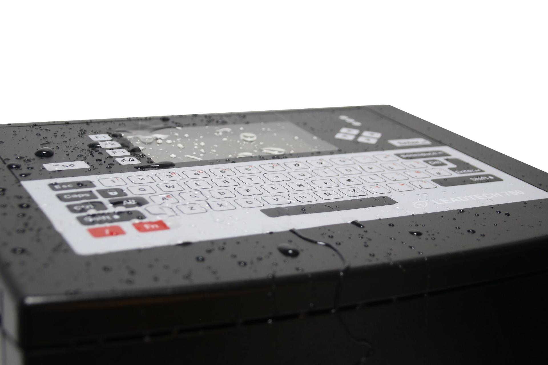 Lead Tech Lt760 Cij Inkjet Printer for Reverse Printing