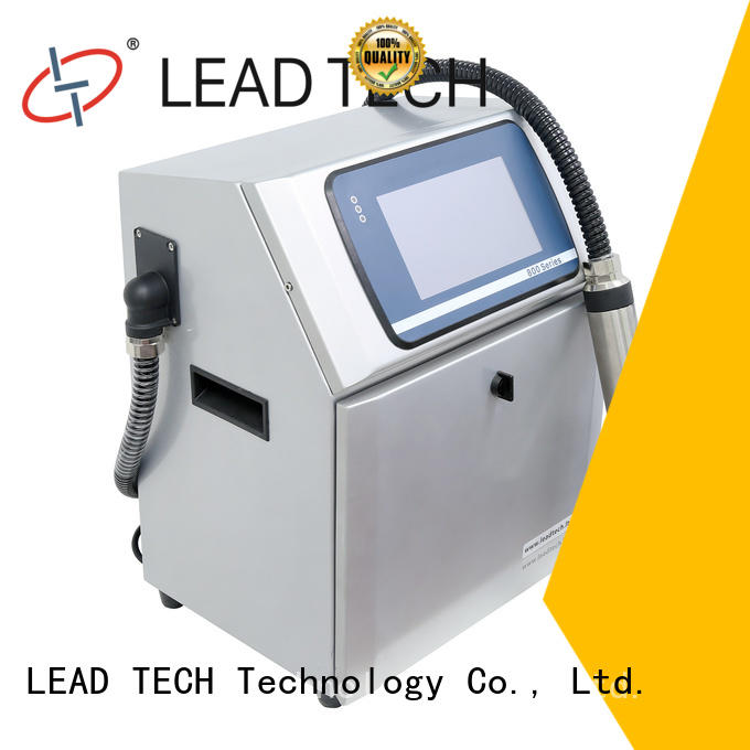 LEAD TECH ink jet system fast-speed for daily chemical industry printing