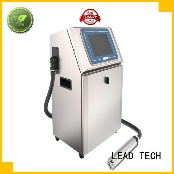 LEAD TECH dust-proof linx inkjet printer for food industry printing