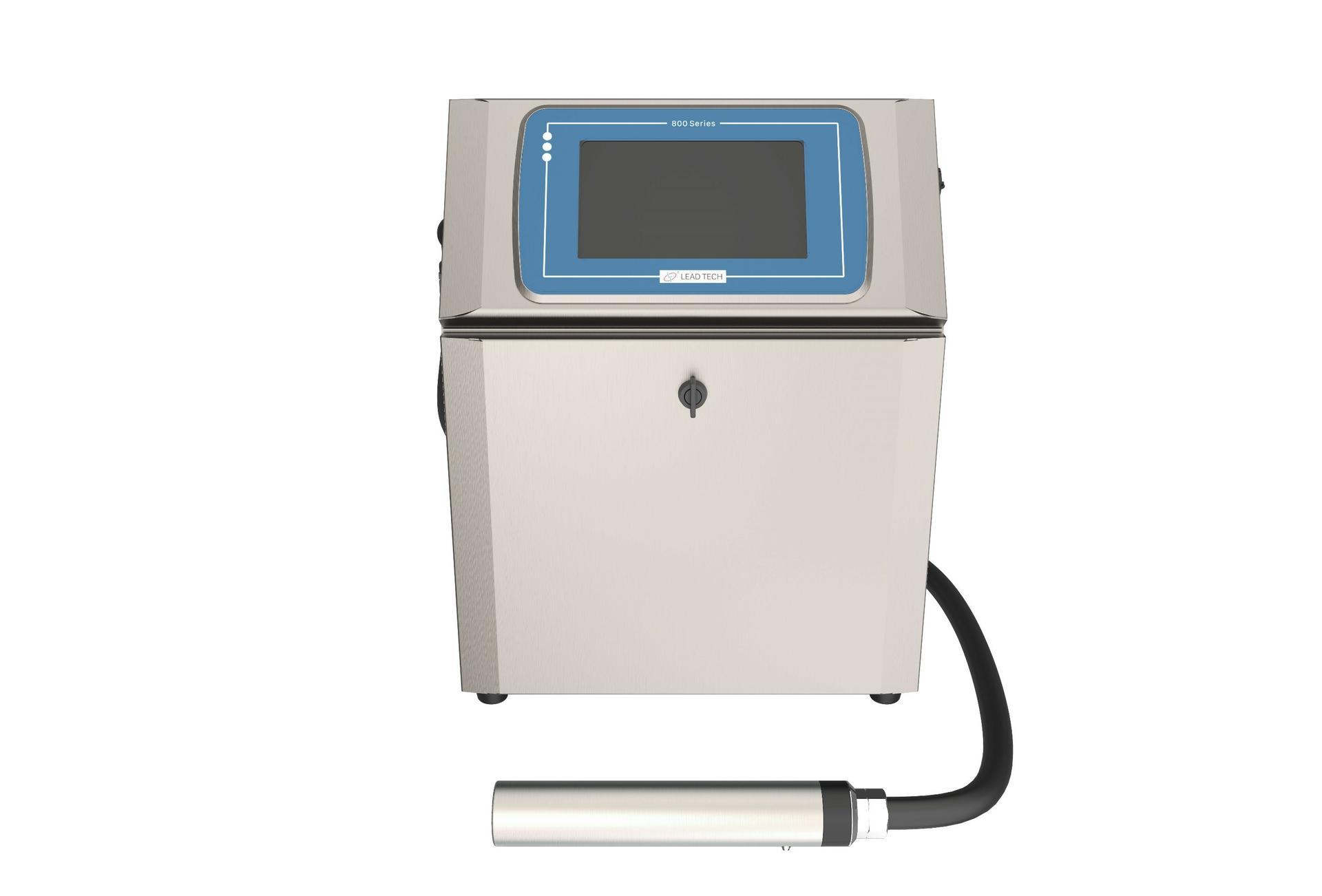 Lead Tech Lt800 Reverse Printing Cij Inkjet Printer
