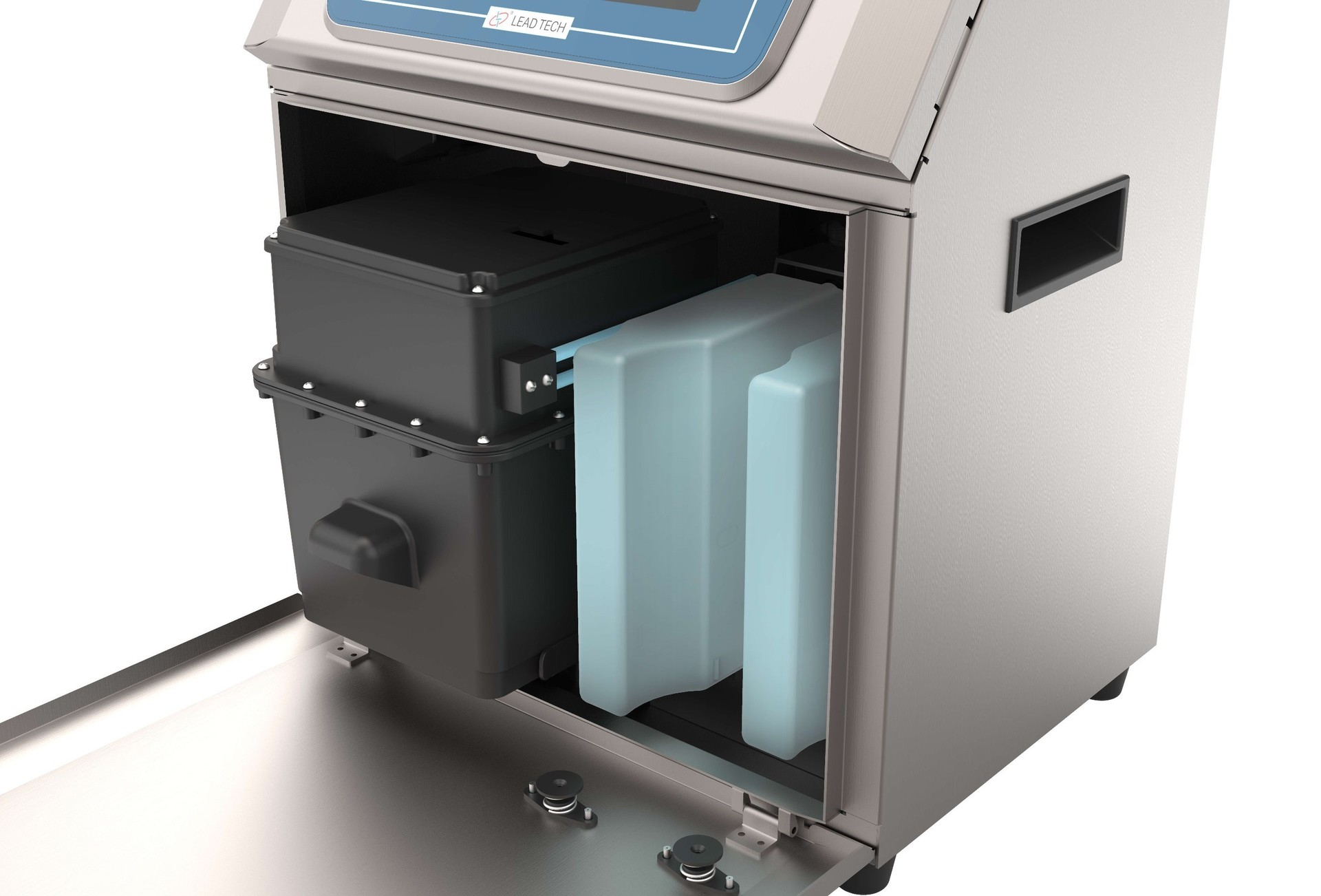 Lead Tech Lt800 PVC Pipe Coding Cij Inkjet Printer