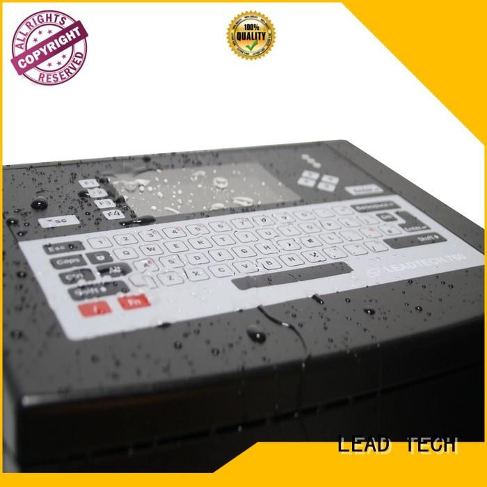 LEAD TECH thermal inkjet printer manufacturers Suppliers for tobacco industry printing