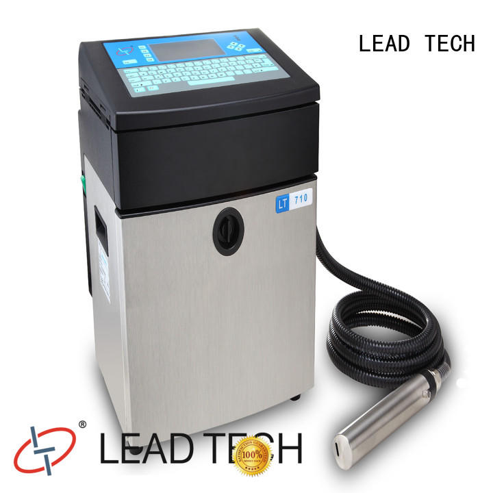 LEAD TECH Best ink jet coders company for auto parts printing