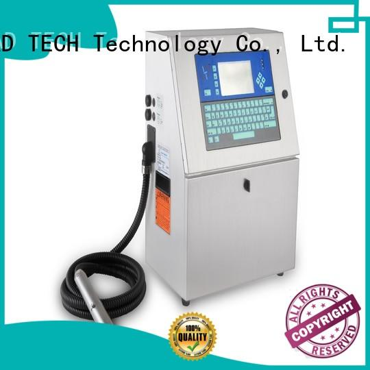 LEAD TECH bulk bestcode inkjet printer for business for food industry printing