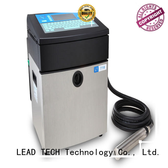 LEAD TECH dust-proof industrial thermal inkjet Suppliers for building materials printing