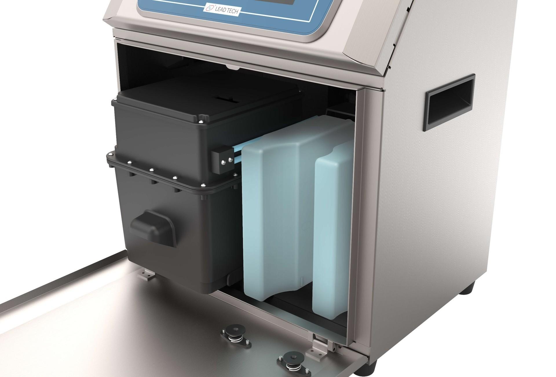 Lead Tech Lt800 Tuna Can Coding Cij Inkjet Printer