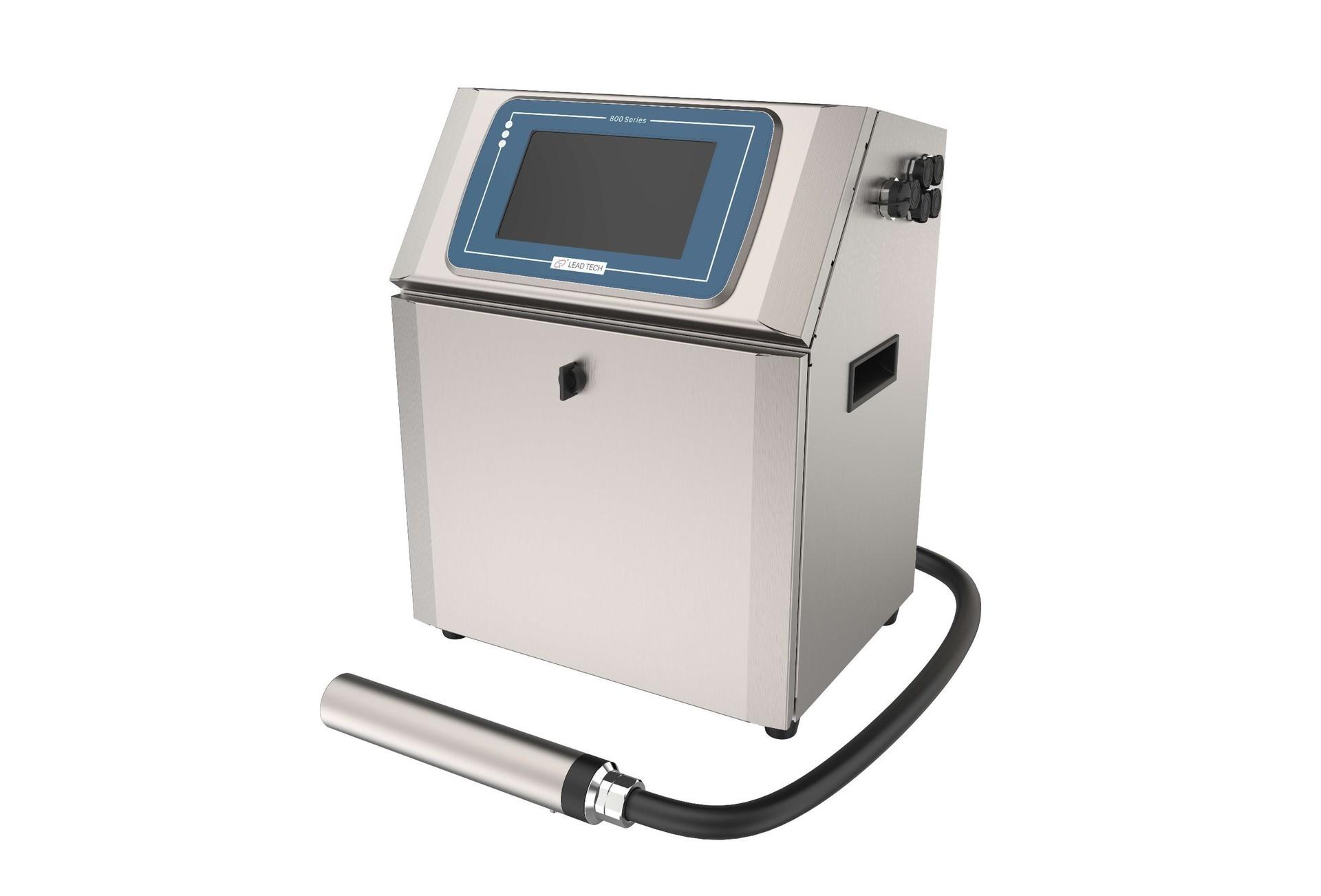 Lead Tech Lt800 Black to Red Coding Cij Inkjet Printer for Beer Printing