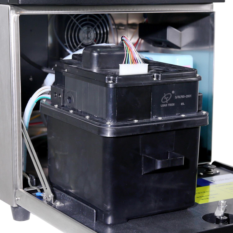 Lead Tech Reverse Printing Continuous Cij Inkjet Printer Lt760