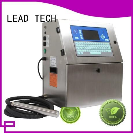 LEAD TECH printer continuous ink for sale Supply for tobacco industry printing