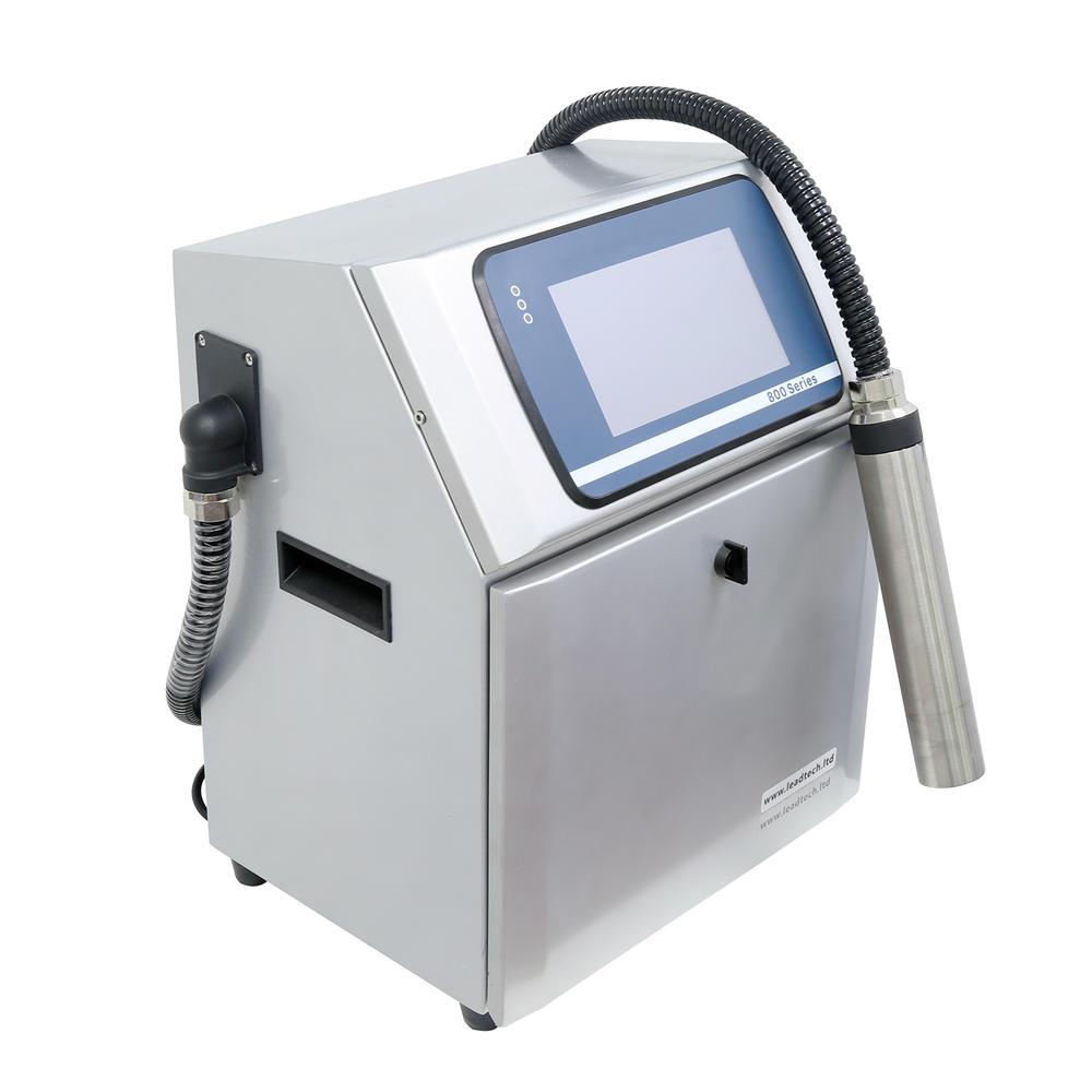 Lead Tech Lt800 Label Printing Machine Inkjet Printer