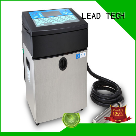 LEAD TECH most ink efficient inkjet printers manufacturers for daily chemical industry printing