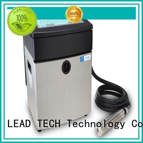 LEAD TECH New inkjet printer function fast-speed for beverage industry printing