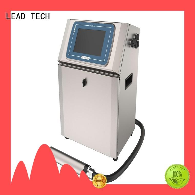 LEAD TECH Best what is an inkjet printer manufacturers for beverage industry printing
