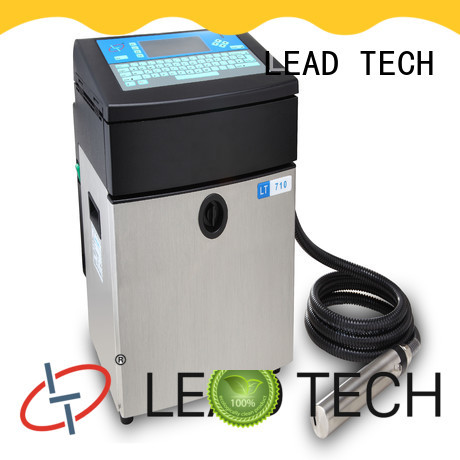 LEAD TECH commercial white inkjet printer custom for auto parts printing