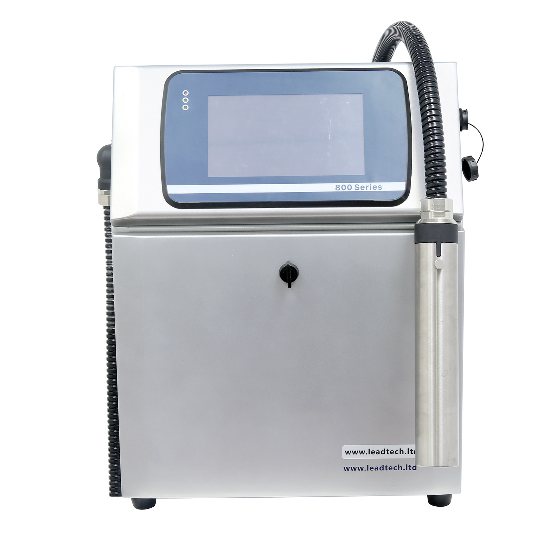 Lead Tech Lt800 Expiry Date Printing Machine Inkjet Printer