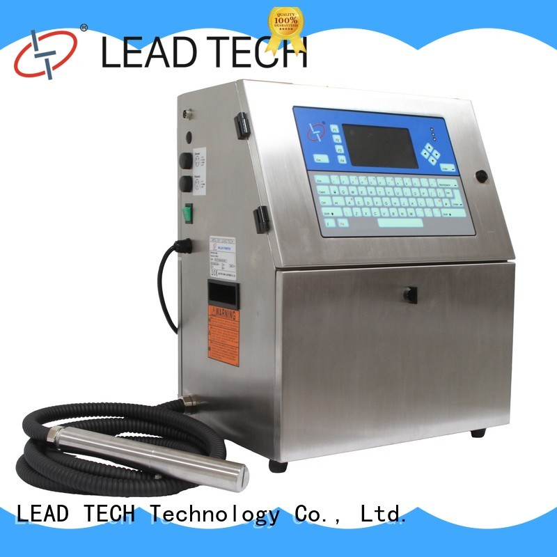 LEAD TECH cij printer price for business for tobacco industry printing