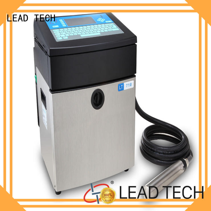 LEAD TECH inkjet printer colors Supply for tobacco industry printing