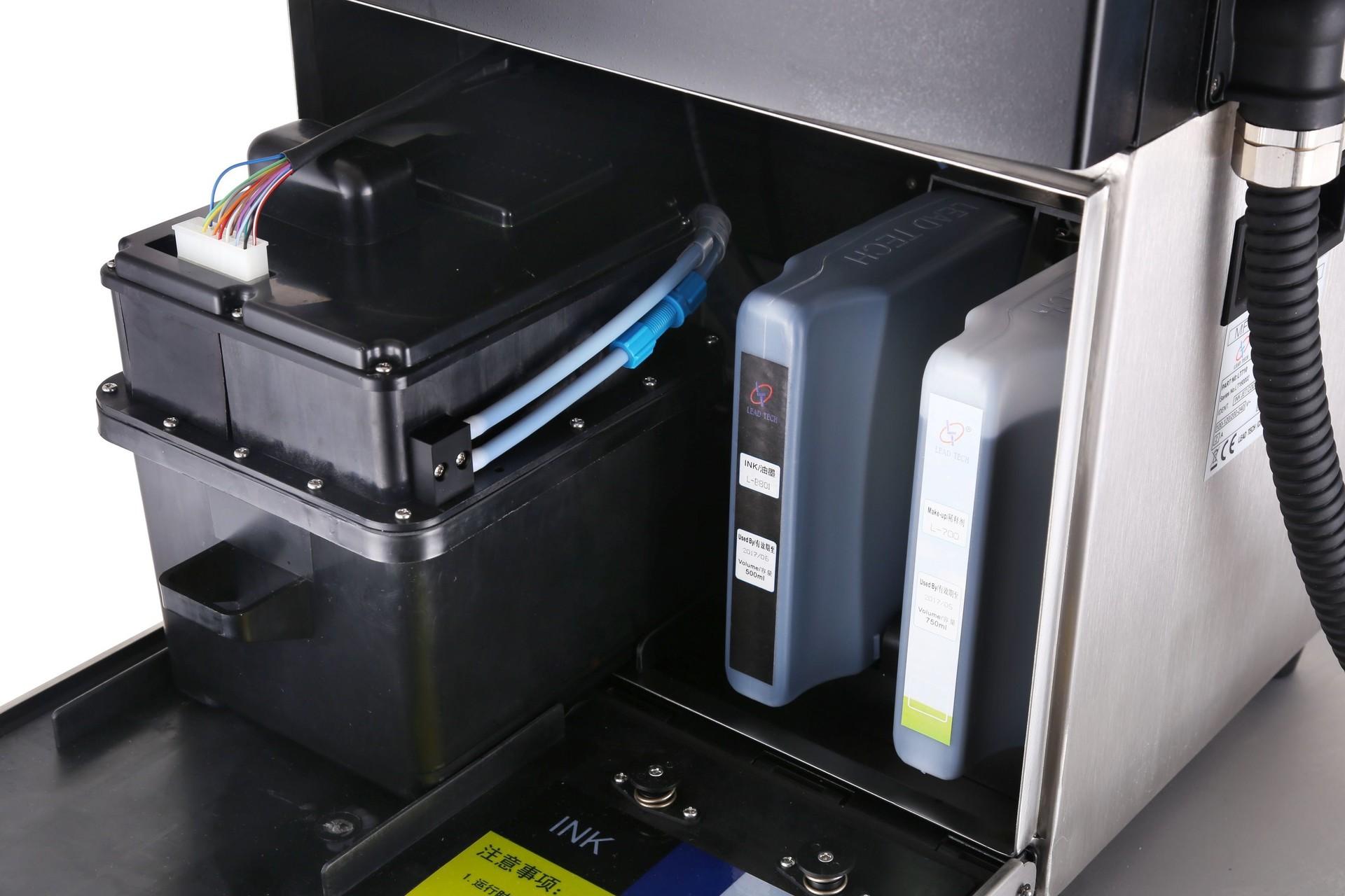 Lead Tech Lt760 Continuous Plastic film Coding Inkjet Printer