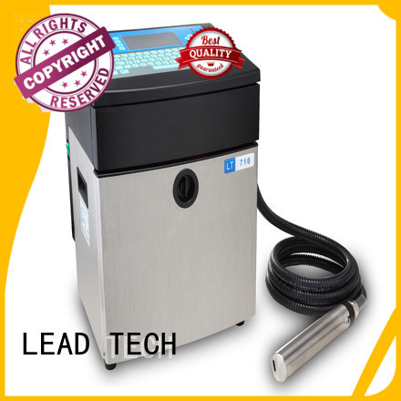 LEAD TECH inkjet printer consumables easy-operated for daily chemical industry printing