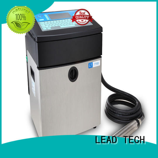 LEAD TECH Best the inkjet printer for business for daily chemical industry printing