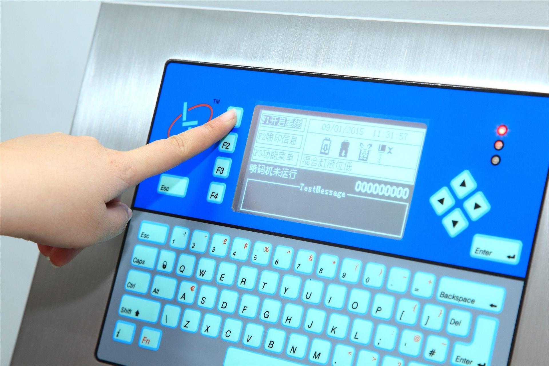 Lt1000s Small Character High Speed Inkjet Coding Machine