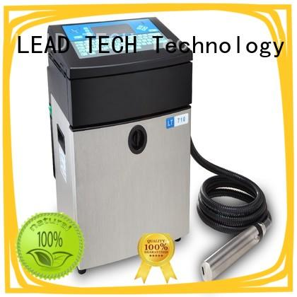 LEAD TECH industrial printing systems Supply for daily chemical industry printing