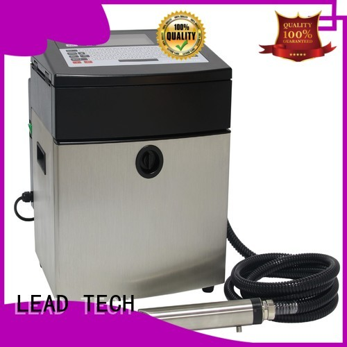 LEAD TECH high-quality industrial inkjet coder manufacturers for pipe printing