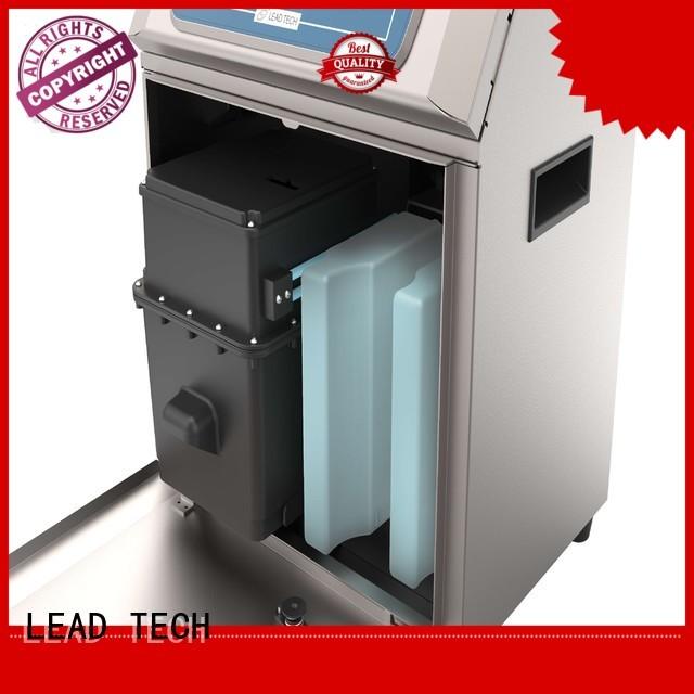 LEAD TECH inkjet printer description OEM for building materials printing