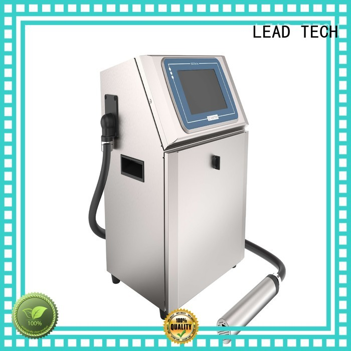 LEAD TECH industrial uv printer Supply for food industry printing