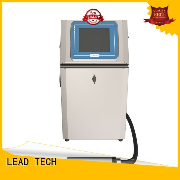 LEAD TECH Best inkjet company factory for tobacco industry printing