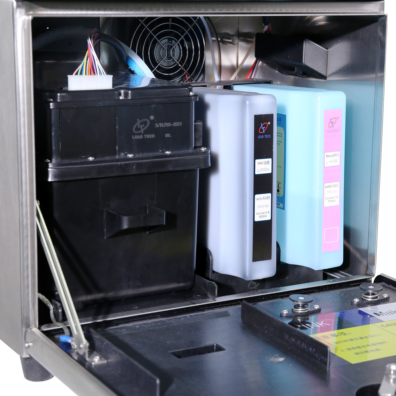Leadtech Lt760 Industrial Printer Variable Color Inkjet Machine
