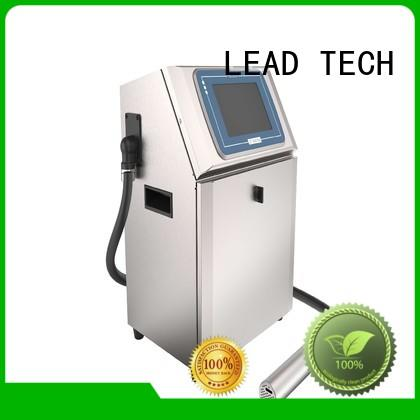 LEAD TECH dust-proof domino cij high-performance for food industry printing