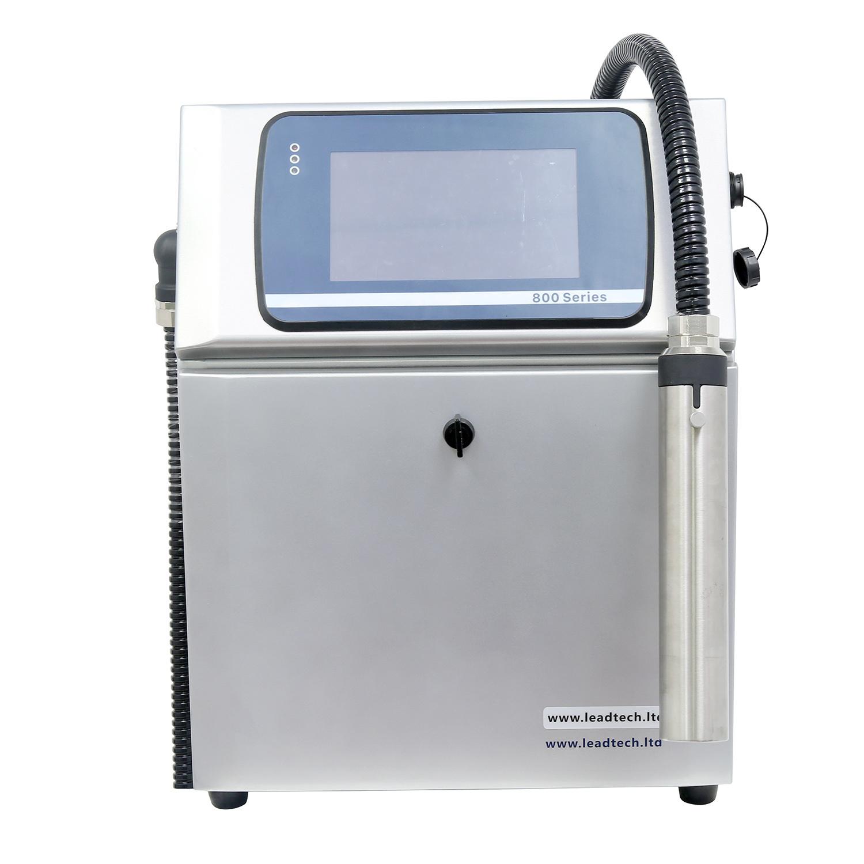 Leadtech Lt800 Variable Data Inkjet Printer Printing Machine