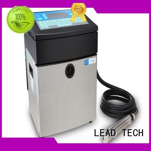 LEAD TECH printer continuous ink system high-performance for auto parts printing