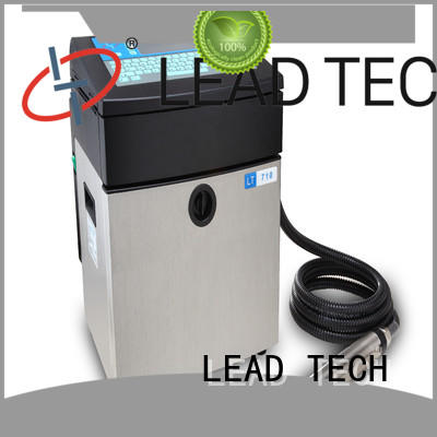 LEAD TECH Top inkjet marking manufacturers for food industry printing