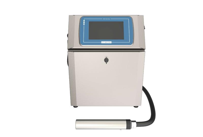 Lead Tech Lt800 Black to Blue Coding Cij Inkjet Printer