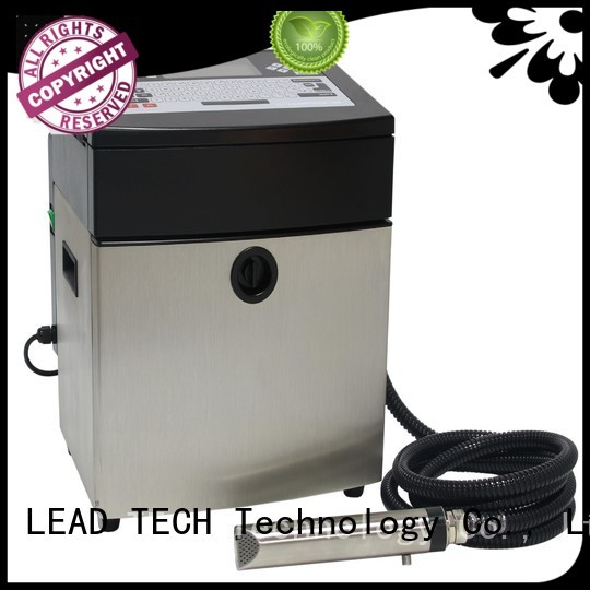 LEAD TECH hot-sale printer continuous ink for sale good heat dissipation for building materials printing