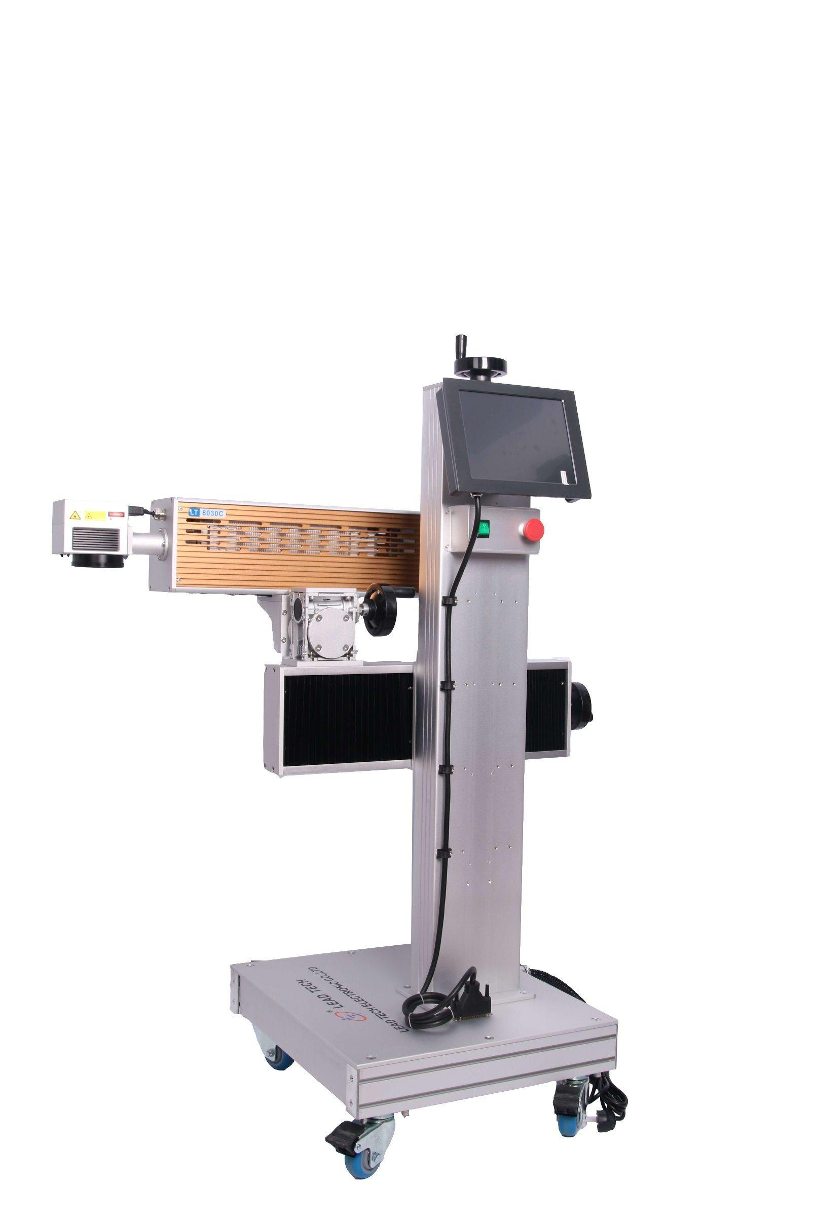 Lt8020c/Lt8030c CO2 20W/30W High Precision Laser Engraving Printer for Stainless Steel Metal Plate Silver Gold