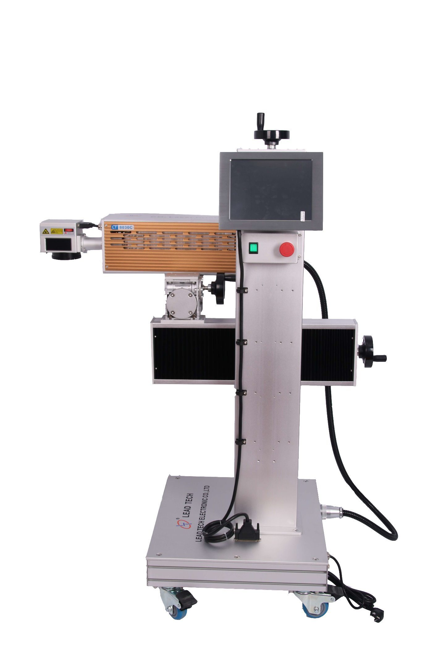 Lead Tech Lt8020c/Lt8030c CO2 20W/30W High Precision Digital Laser Engraving Marking Printer for Pipe/Leather
