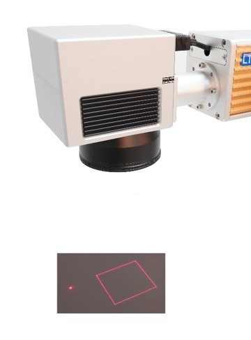 Lt8020f/Lt8030f/Lt8050f Fiber High Precision Laser Engraving Printer for Stainless Steel Metal Plate Silver Gold