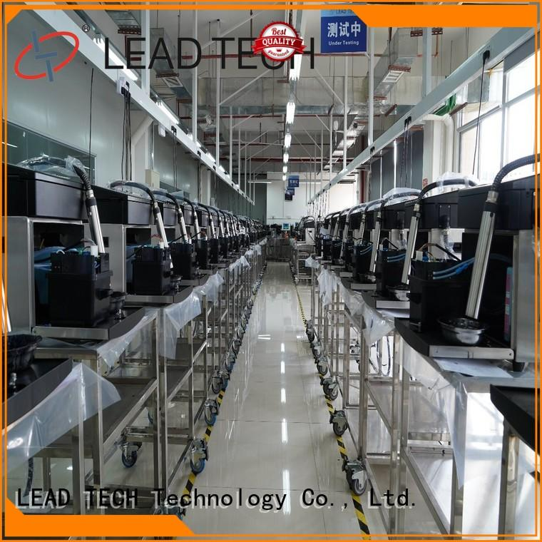 LEAD TECH Wholesale ceramic inkjet printer fast-speed for food industry printing