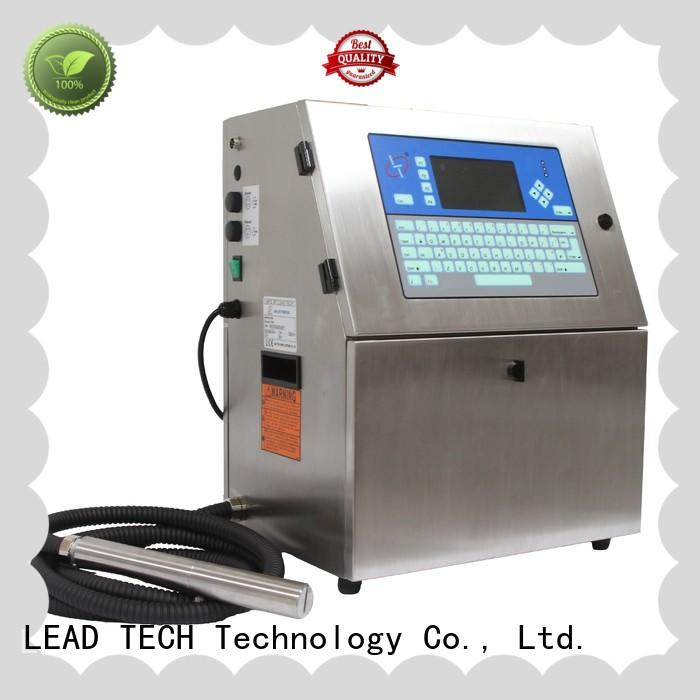 LEAD TECH videojet inkjet printer for beverage industry printing