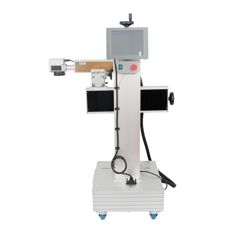 Lead Tech Lt8020f/Lt8030f/Lt8050f Fiber High Speed Fly Laser Marking Printer for PPR/PE/PVC Pipe Marking