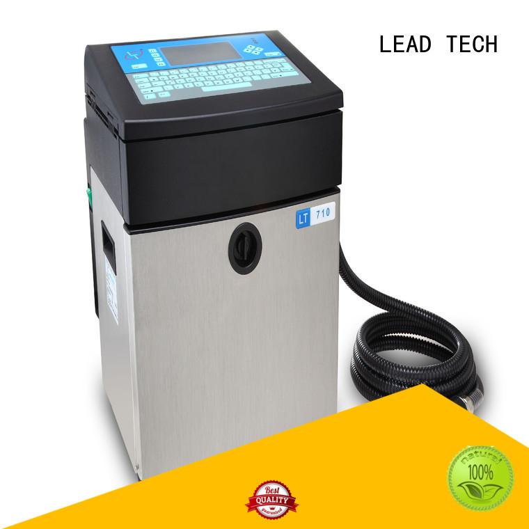 LEAD TECH thermal inkjet printer vs inkjet printer Suppliers for beverage industry printing
