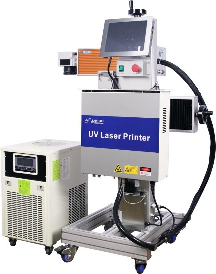 Lead Tech Lt8003u/Lt8005u UV 3W/5W High Precision Digital Laser Engraving Marking Printer for Cans/Plastics